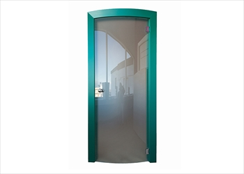 "MODELLO ""GLASS DOOR CONVESSA"""